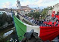 136 Crolla il Ponte del Diavolo © Foto Petrussi