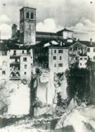 sez_IV_Cividale_Il ponte del Diavolo fatto saltare dalle truppe iitaliane in ritirata (Archivio priv